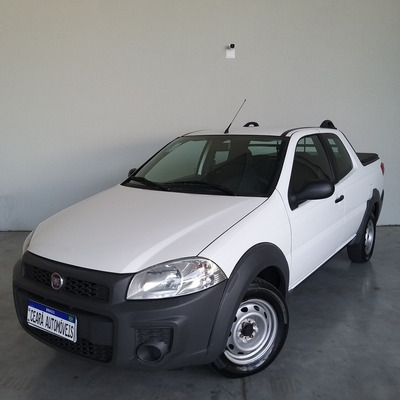 Fiat Strada 2019 1.4 Hard Working Cab. Dupla Flex 3p