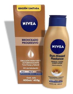 Emulsion Autobronceante Hidratante Nivea Sun Rostro Y Cuerpo