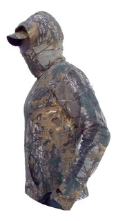 Sudadera Ligera Cubre Rostro Plegable Caceria Camuflaje Camp