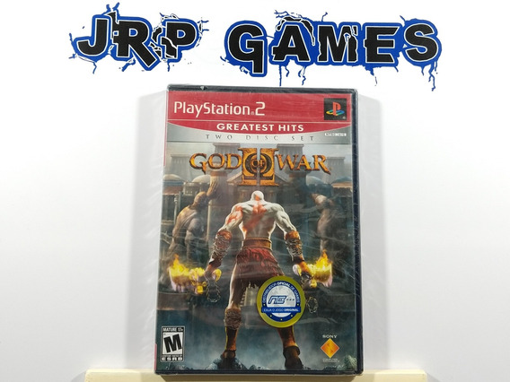 God Of War 2 Original Americano Ps2 Lacrado