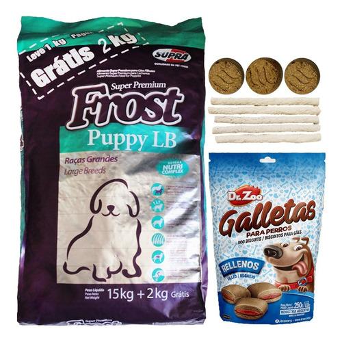 Alimento Perro Frost Cachorro Lb Large Breed 15 Kg + Regalo
