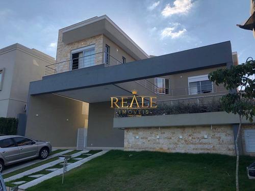 Casa Com 4 Dormitórios À Venda, 252 M² Por R$ 1.950.000,00 - Loteamento Parque Dos Alecrins - Campinas/sp - Ca1308