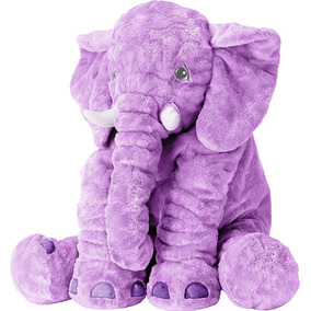 Travesseiro De Elefante Lilas Cartoon Toys