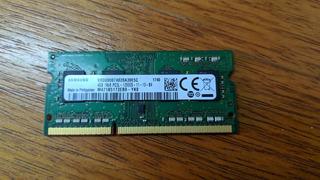 4gb Ram Sodimm Ddr3 1600 Mhz Samsung Notebook/netbook/mac