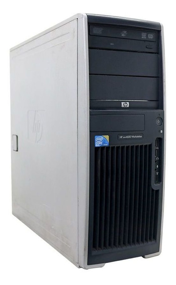 Worstation Hp Xw4600 Core2quad 4gb 250gb - Usado