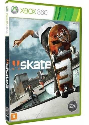 Skate 3 Xbox360 Mídia Física Lacrado