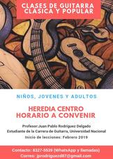 Clases De Guitarra Clásica Y Popular