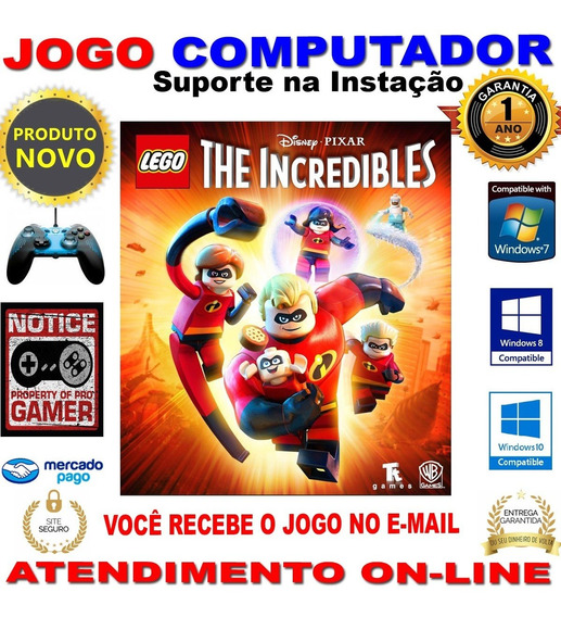 Lego® The Incredibles - Game Pc - Incriveis 2 - Mídia Pc