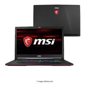 Laptop Msi Gl73 15.6 Core I7 8va 1tb 16gb 256gb Gtx1050 4gb