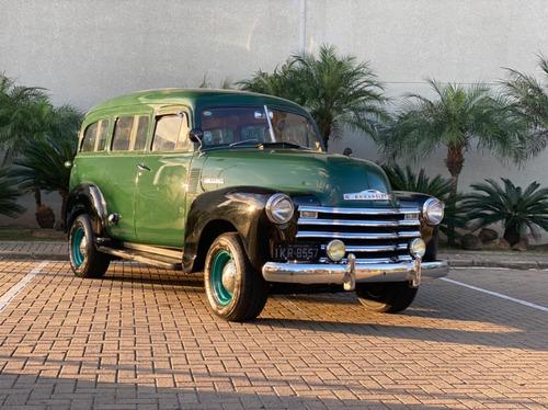 Suburban 1951 Raridade - Placa Preta
