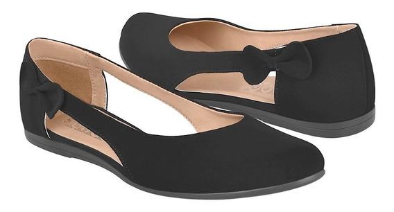 Zapatos De Piso Para Mujer Stylo 160 Negro