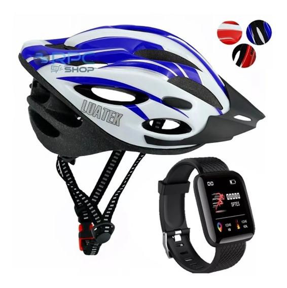 Relogio Pulseira Inteligente Digital Capacete Bike Ciclismo