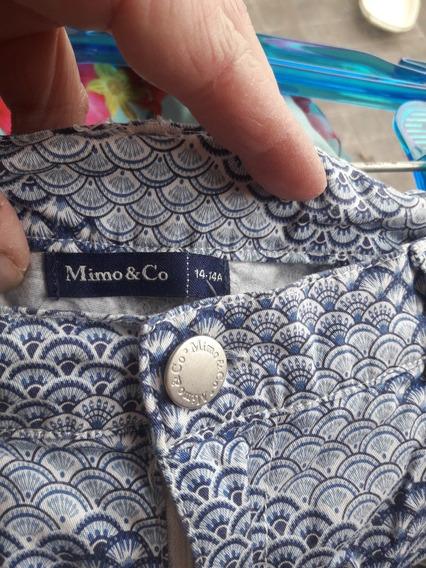 Short Tela Mimo & Co Usada Impecable !!!