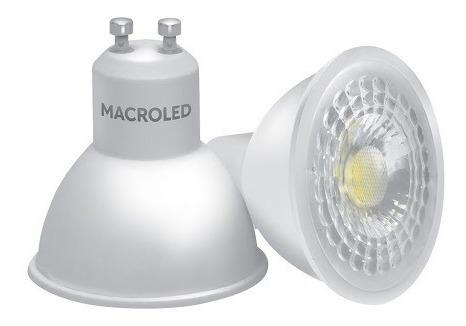 Lampara Dicroica Macroled 7w Gu10 220v