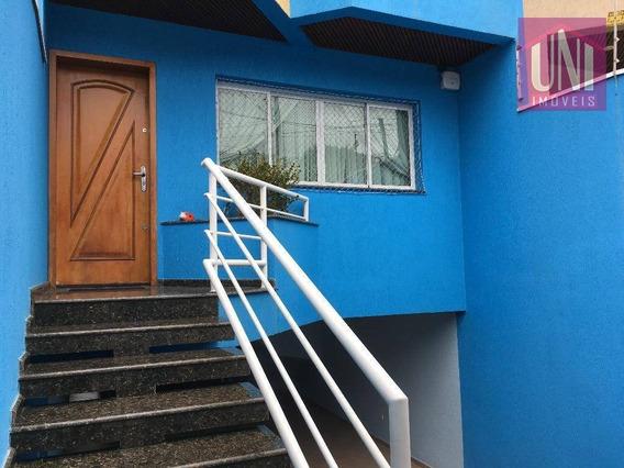 Sobrado Residencial À Venda, Parque Das Nações, Santo André. - So0478