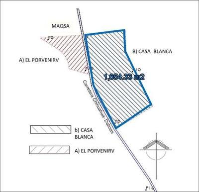Terrenos Comerciales Venta Carr. Chihuahua-delicias $350 X M2 Maralv Gl3