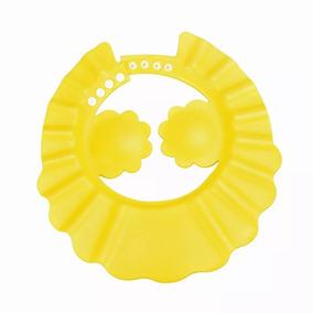Chapéu De Banho Protetor Viseira Lava Cabeça Bebês Crianças