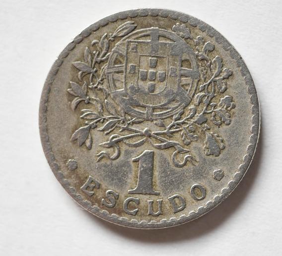 Moneda Antigua 1 Escudo República Portuguesa 1928