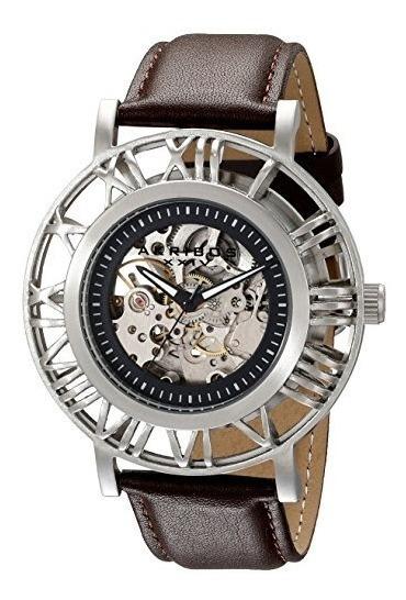 Esqueleto De La Correa De Reloj De Acero Inoxidable Ak551ss