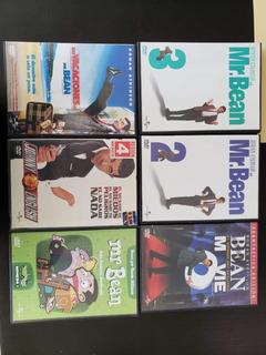 6 Peliculas Dvd De Mr Bean Rowan Atkinson.