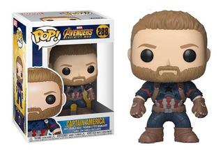Funko Pop - Capitan America 288 Avengers Infinity War