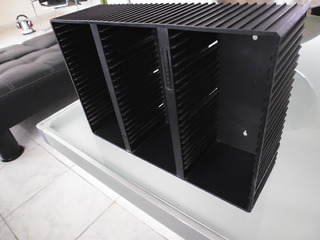 Porta Cd Laserline / Con Capacidad De 66 Cds / Rectangular