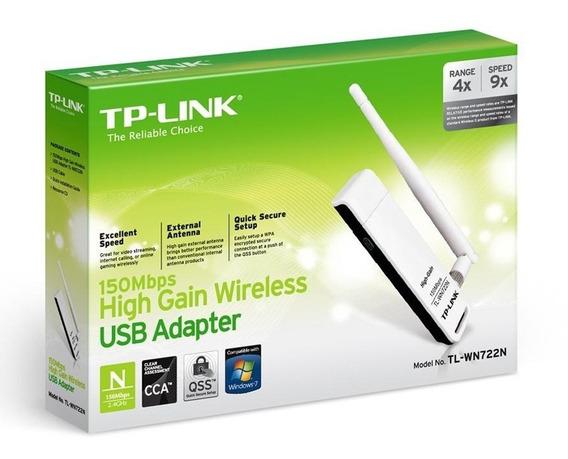 Adaptador Wifi Usb Placa De Red Tp-link Wn722n Martinez