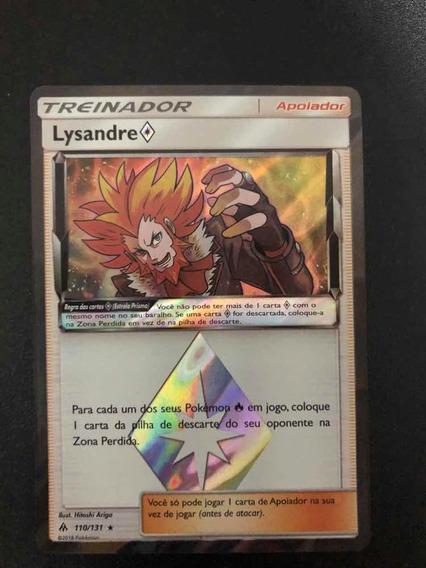 Card Pokemon Lysandre Estrela Prisma