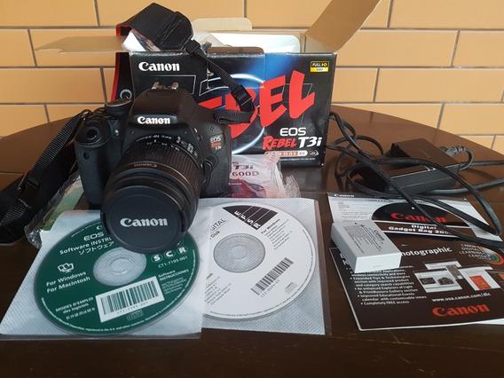 Camera Canon T3i Completo