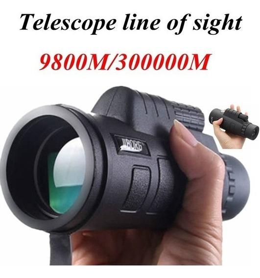 Telescopio 40x60 Monocular Potência Visível Hd Com Pouca Luz