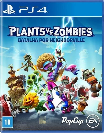 Plants Vs Zombies Batalha Por Neighborville Ps4 Mídia Física