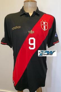 Camisa Peru Preta Final Copa América 2019 #9 Guerrero
