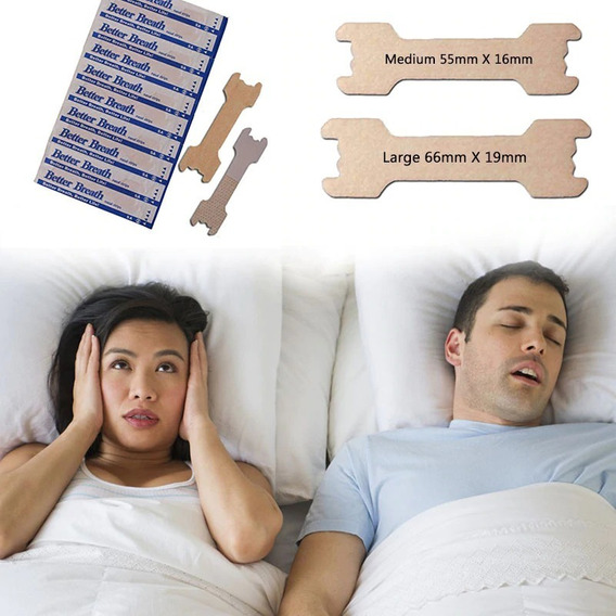 Antironquidos | Dilatador Nasal Y Tiras Nasales Pack Dormir