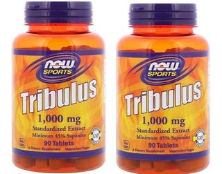 2unid Now Foods Tribulus Terrestris 1000mg 90tabs Importado
