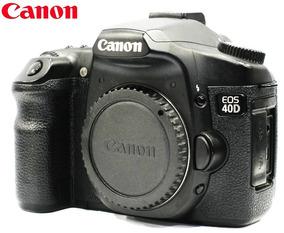 Câmera Canon Eos 40d - 10mp - Corpo + Cf 4gb