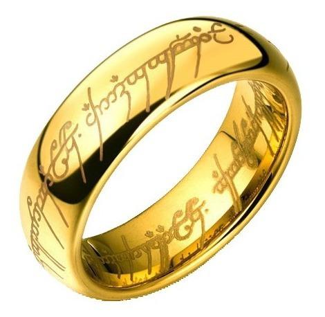 O Um Anel De Sauron Hobbit Senhor Dos Anéis Lord Of Rings