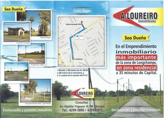 Importante Loteo A 200 Mts De Av. Berlin, Gan Oportunidad !!