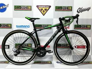 Bicicleta De Ruta Aro 700 Aluminio Gw Veleta Shimano Sora