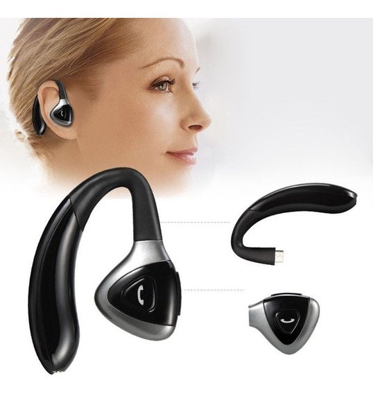 Fone Ouvido Auricular Bluetooth 4.1 2 Bateria iPhone Xiaomi