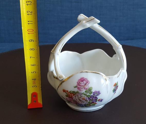 Canasta De Porcelana Limoges