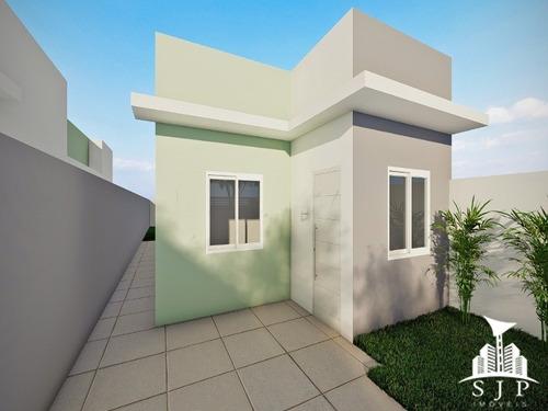 Imagem 1 de 4 de Casas Novas Em Construção, Com 03 Quartos - Ca00087 - 69196695