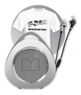 Auriculares Bluetooth + Parlante + Remera Kit Monster