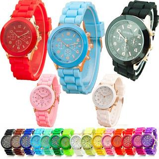 Reloj Deportivo Mujer Relojes Geneva para Mujer en Mercado