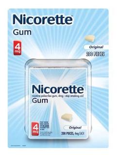 La Nicotina Nicorette Goma 4mg 200 Piezas