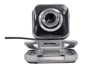 Camara Webcam Nm-web01 Microf Zoom Skype Videochat Pc Note