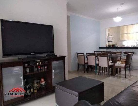 Apartamento Com 3 Dormitórios À Venda, 90 M² Por R$ 430.000 - Jardim Estoril - São José Dos Campos/sp - Ap1853