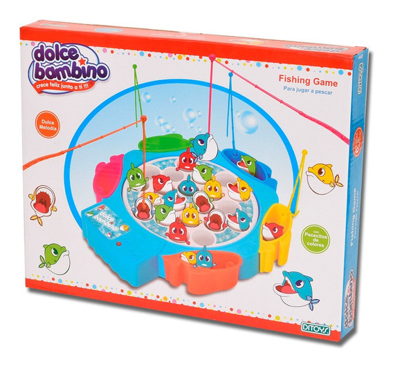 Dolce Bambino Fishing Game Ditoys