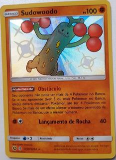 Card Pokemon Sudowoodo Shiny