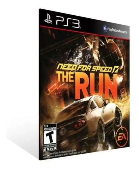 Need For Speed The Run Ps3 Psn Envio Já