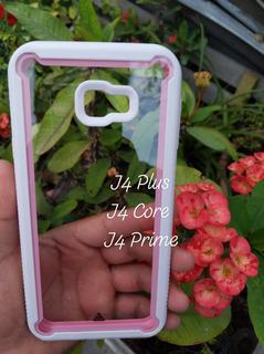 Funda Uso Rudo Transparente Samsung Galaxy J4plus/core/prime